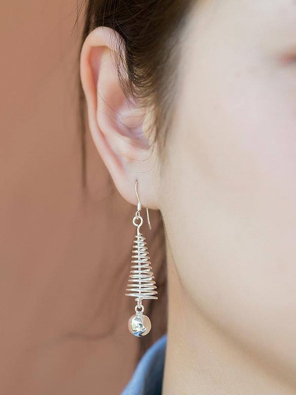 Springing Earrings