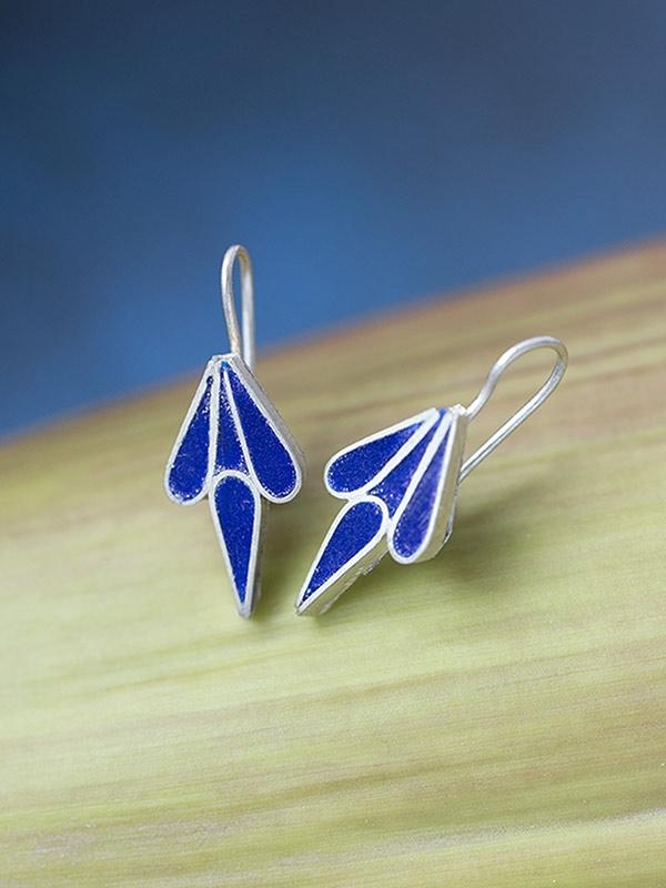 Blue Mist Earrings