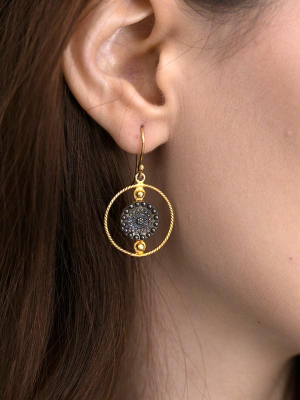 Signet Earrings