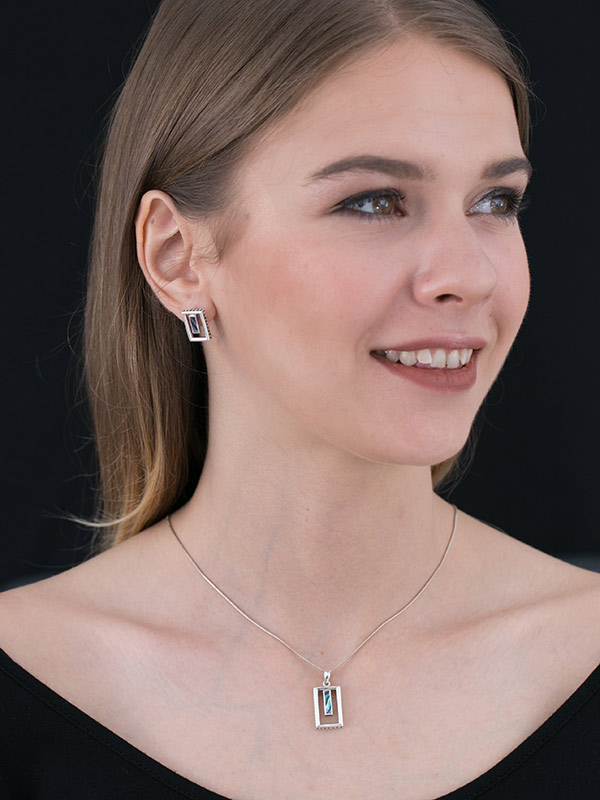 Perspective Earring