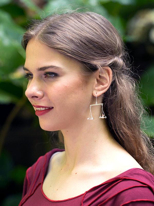 Libra Earrings