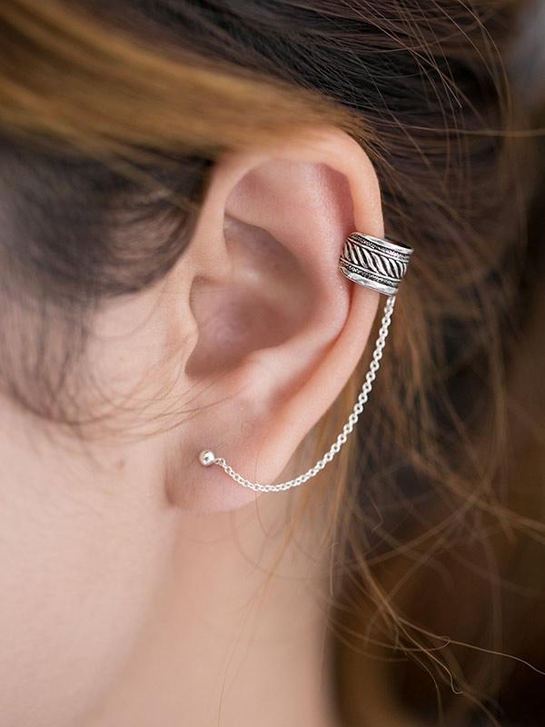 Banda Ear Cuff Studs