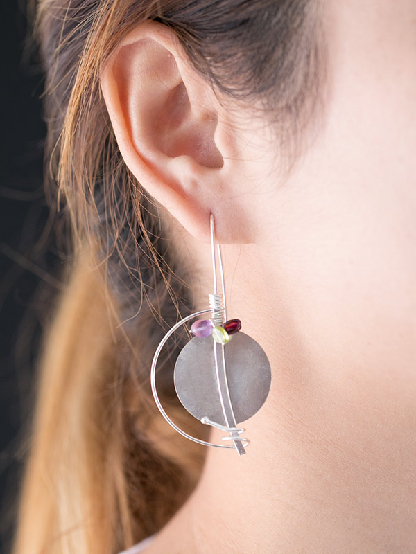 Rondelle Earring