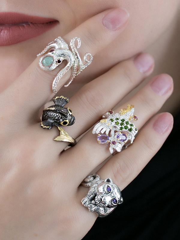 Seaflower Ring