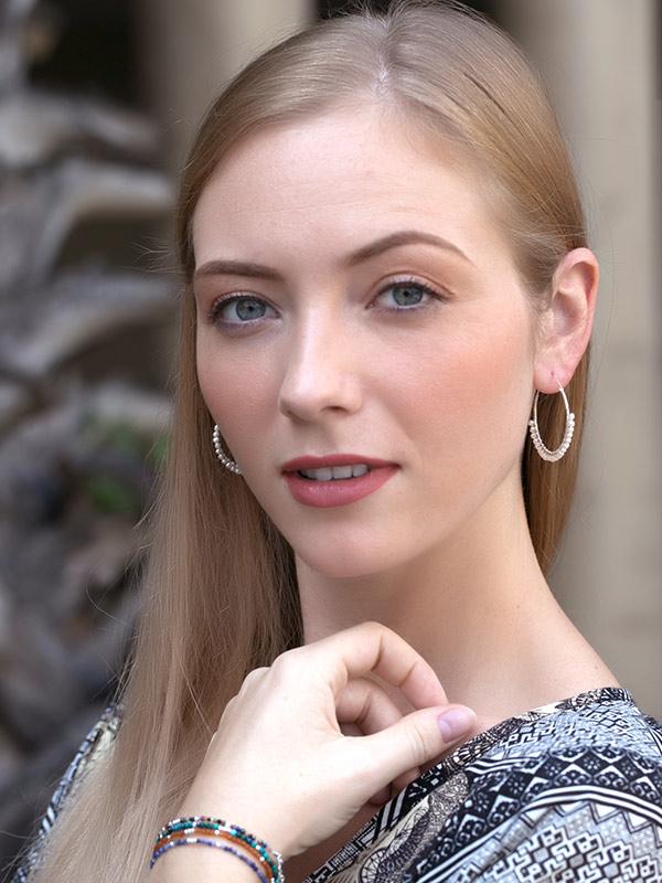 Beadcroft Hoop Earrings