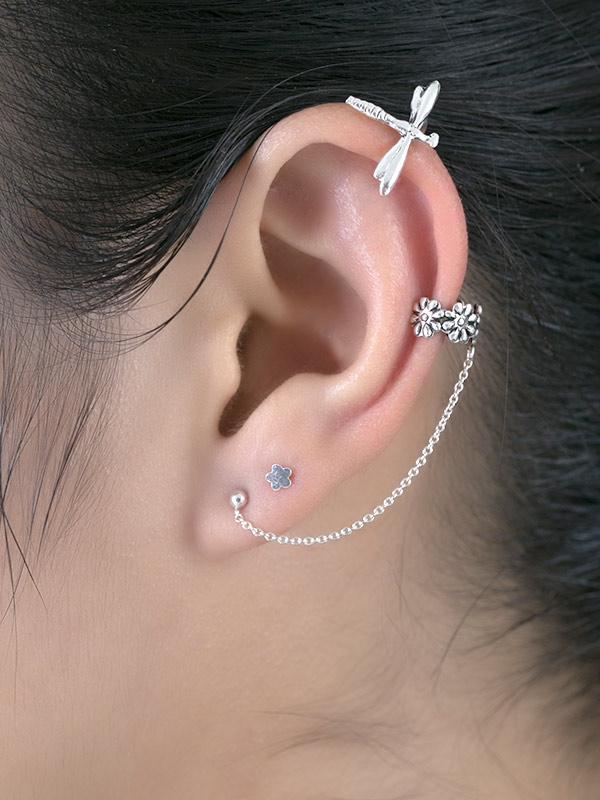 Dragonfly Ear Cuffs