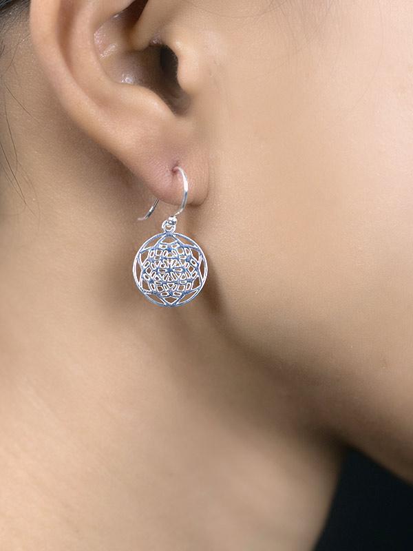 Yantra Earrings