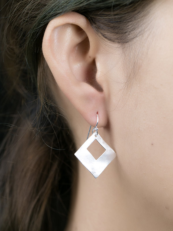 Keyhole Earrings