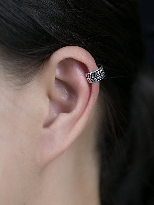 Plume Ear Cuffs