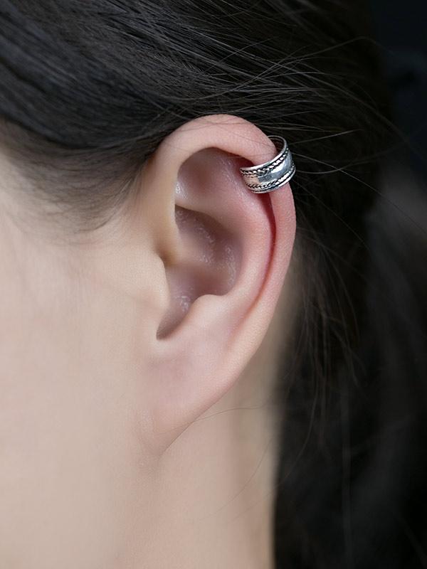 Cordage Ear Cuffs