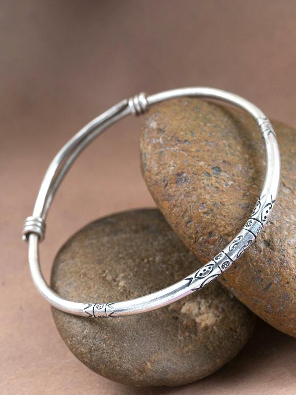Gaia Stamp Bracelet