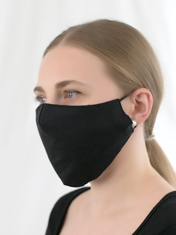 Standard Triple-layer Fabric Mask