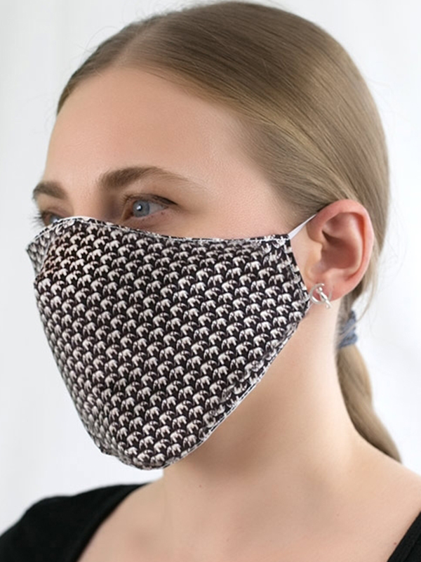 Design Triple-layer Fabric Mask