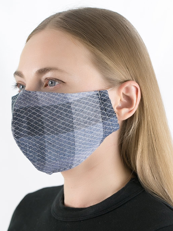 Soft Cotton Triple-layer Fabric Mask