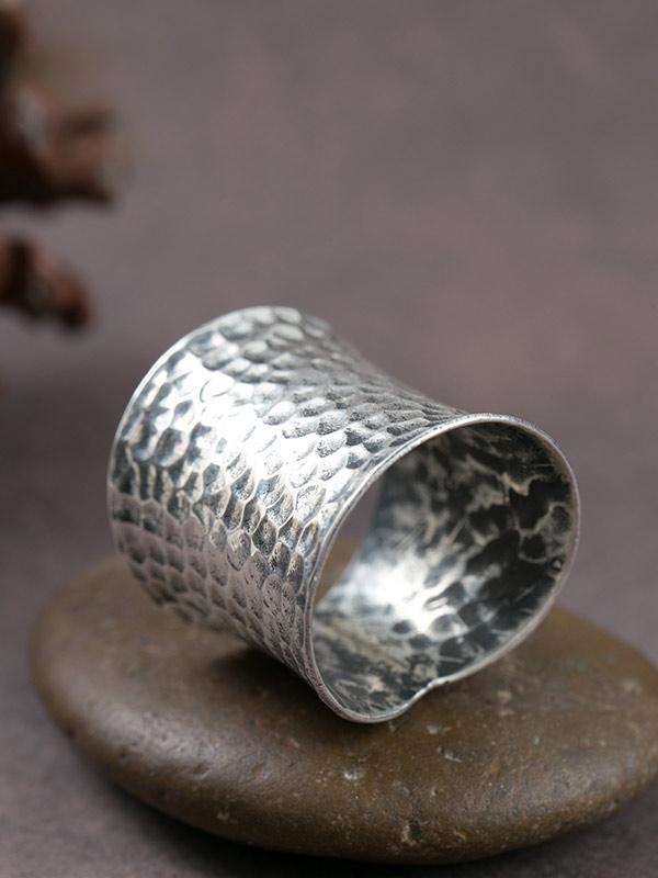Anviled Band Ring