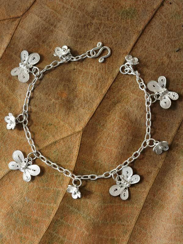 Blossom Butterfly Bracelet