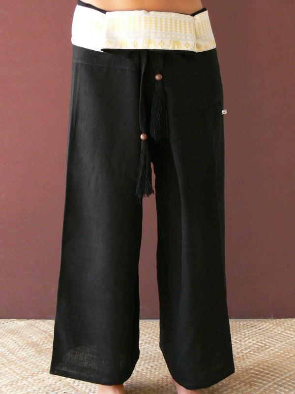 Cotton Thai Tie Pants