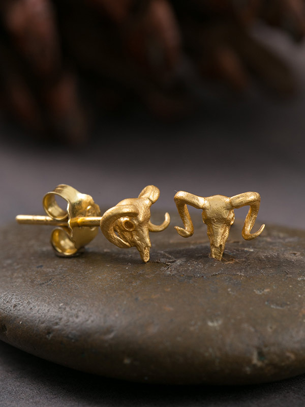 Longhorn Gold Studs