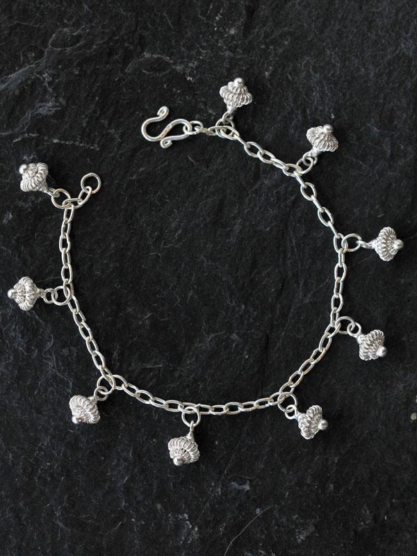 Mayom Draped Thai Charm Bracelet