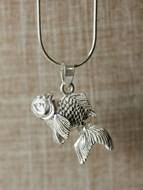Mobile Goldfish Pendant
