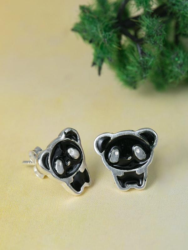 Night Panda Studs