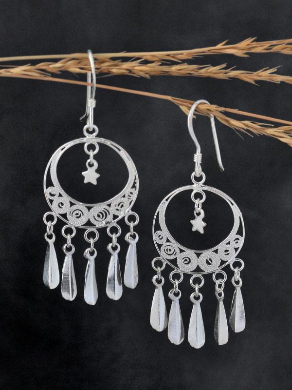 Paper Moon Earrings