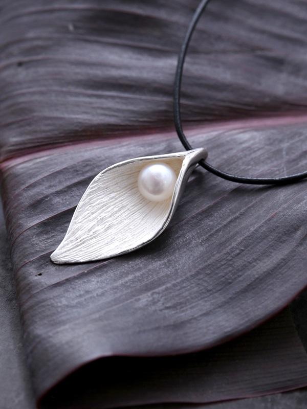 Hidden Pearl Pendant