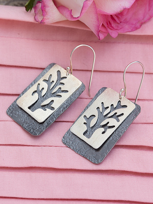 Dark Forest Earrings