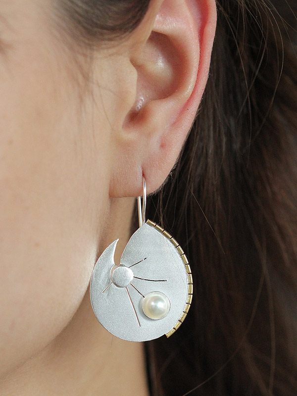 Coriolis Earrings