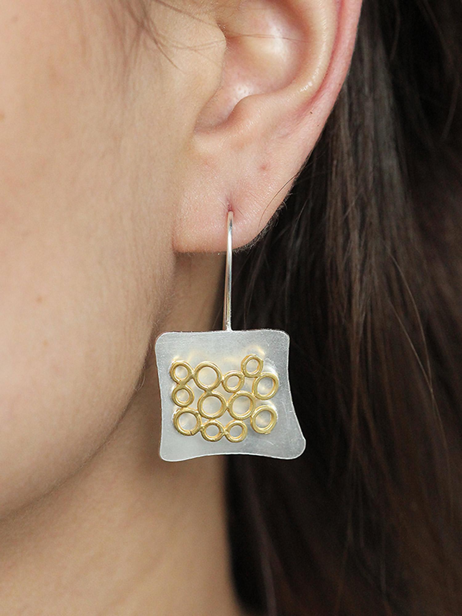 Golden Loops Earrings