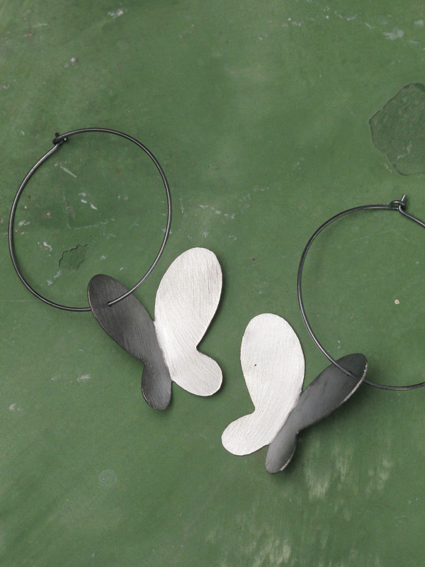 Modern Butterfly Earrings