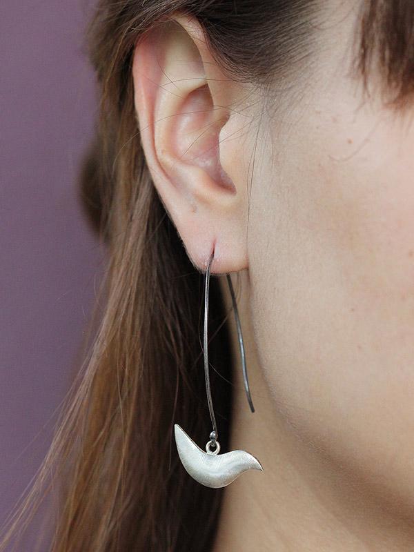 Partridge Pair Earrings