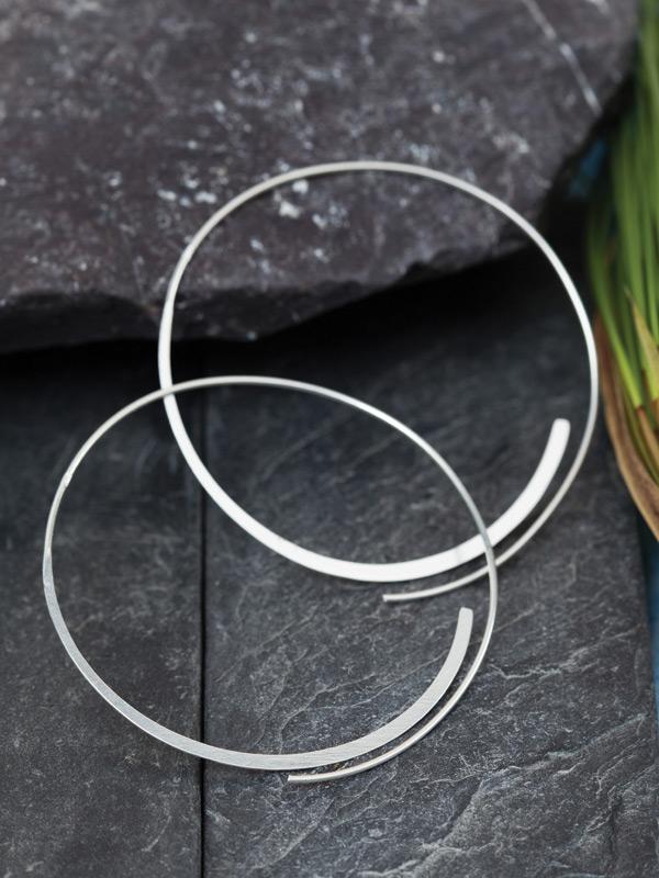 Skyway Hoop Earrings