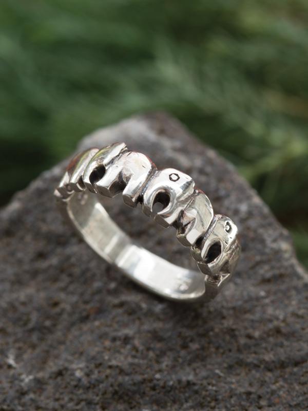 Elephant Train Ring