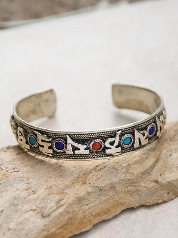 Mantra Script Bracelet