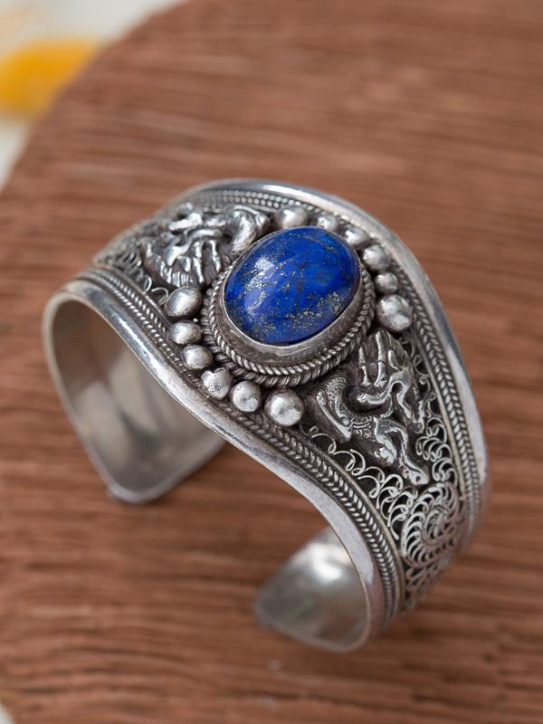Nepalese Dragon Bracelet