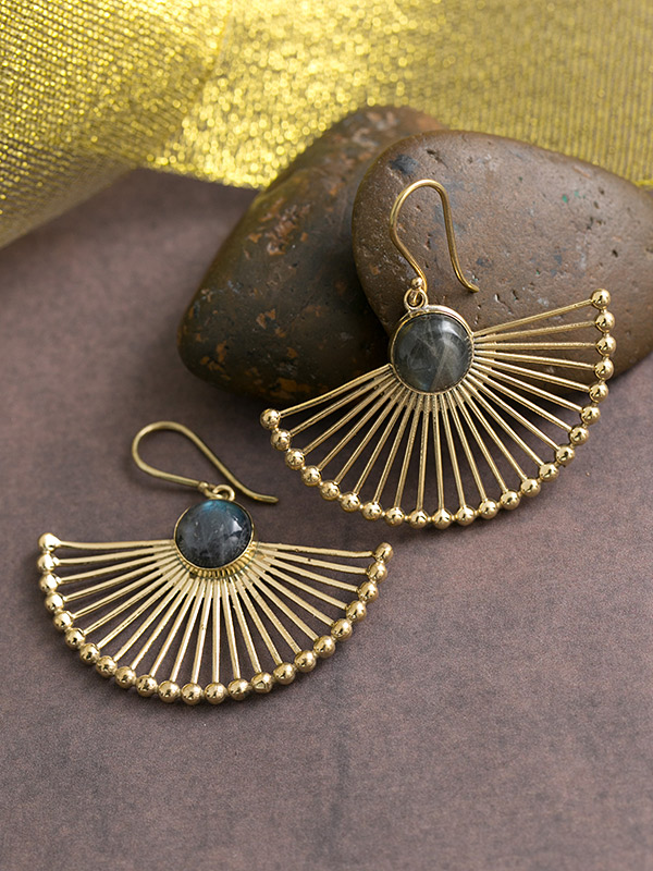 Golden Rays Earrings