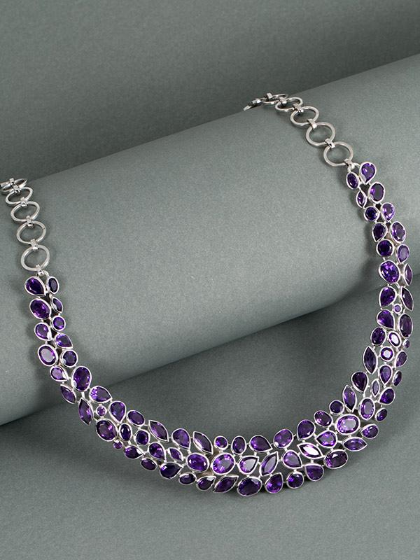 Cleopatra Gem Necklace