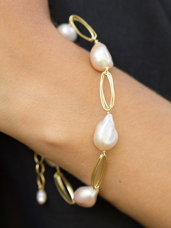 Pearl Path Bracelet