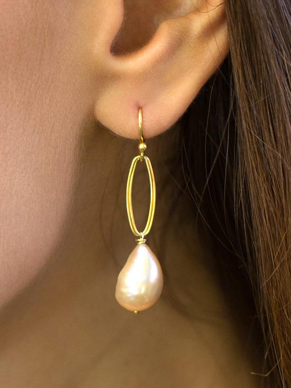 Pearl Path Earrings