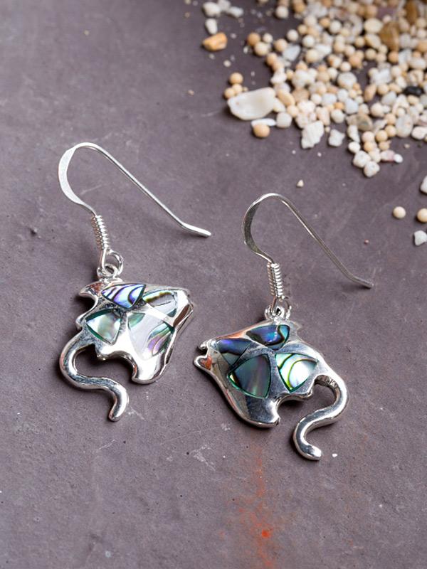 Manta Reef Earrings