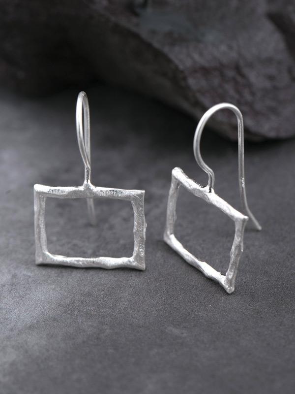 Woodframe Earrings