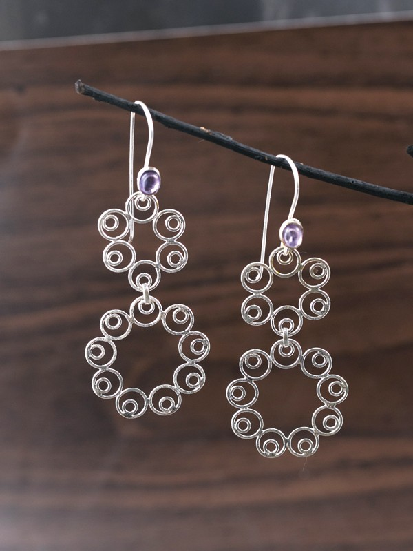 Lace Loop Earrings