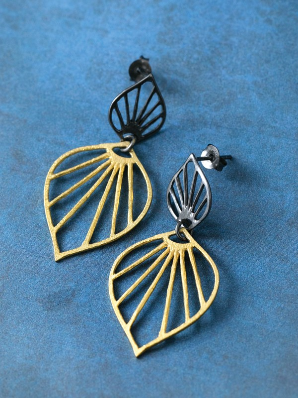 Leaf Shadow Earrings