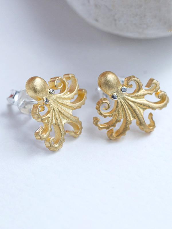 Octopi Earring