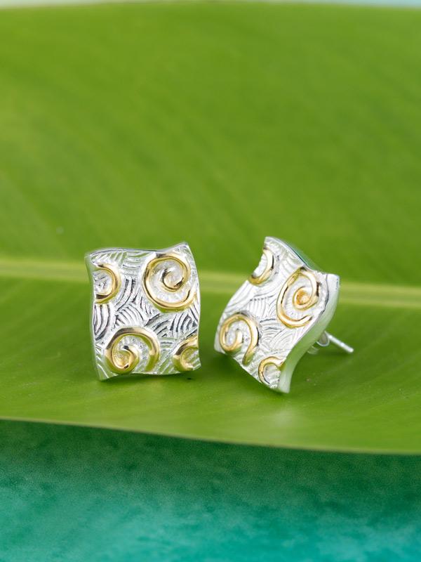 Sea Cavern Earrings