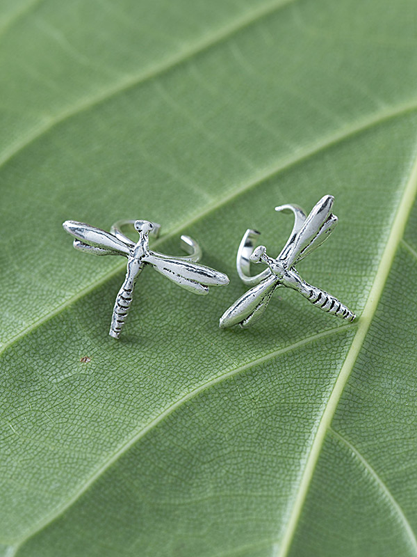 Dragonfly Ear Cuffs