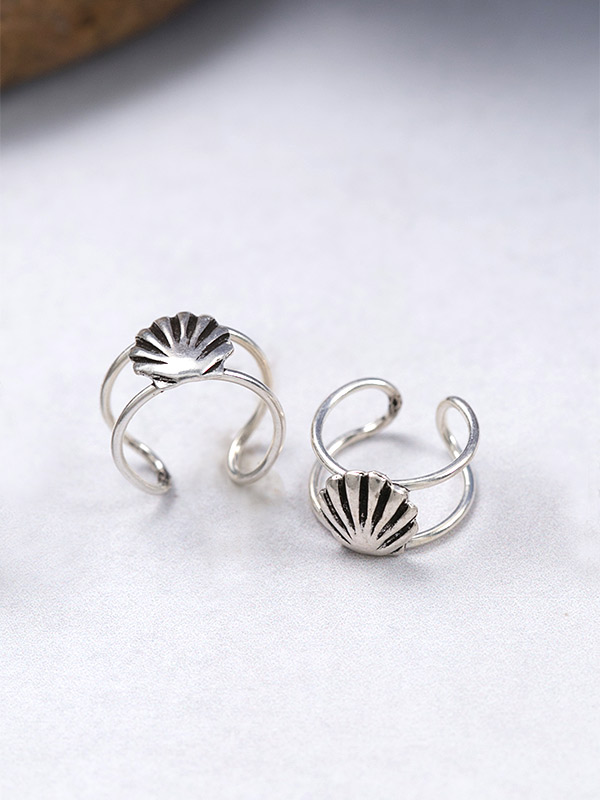 Shell Ear Cuffs