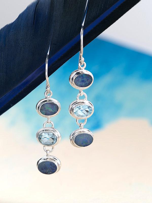 Bluedrops Earrings