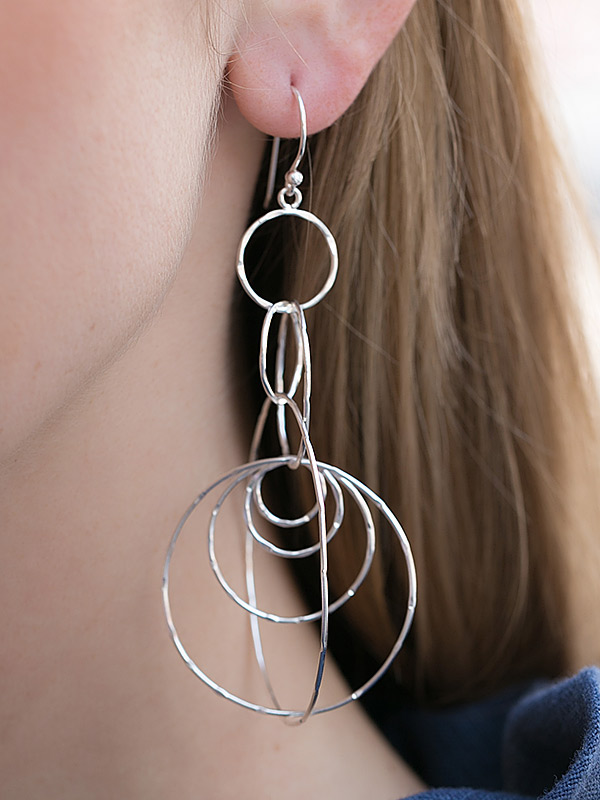 Chainstorm Earrings